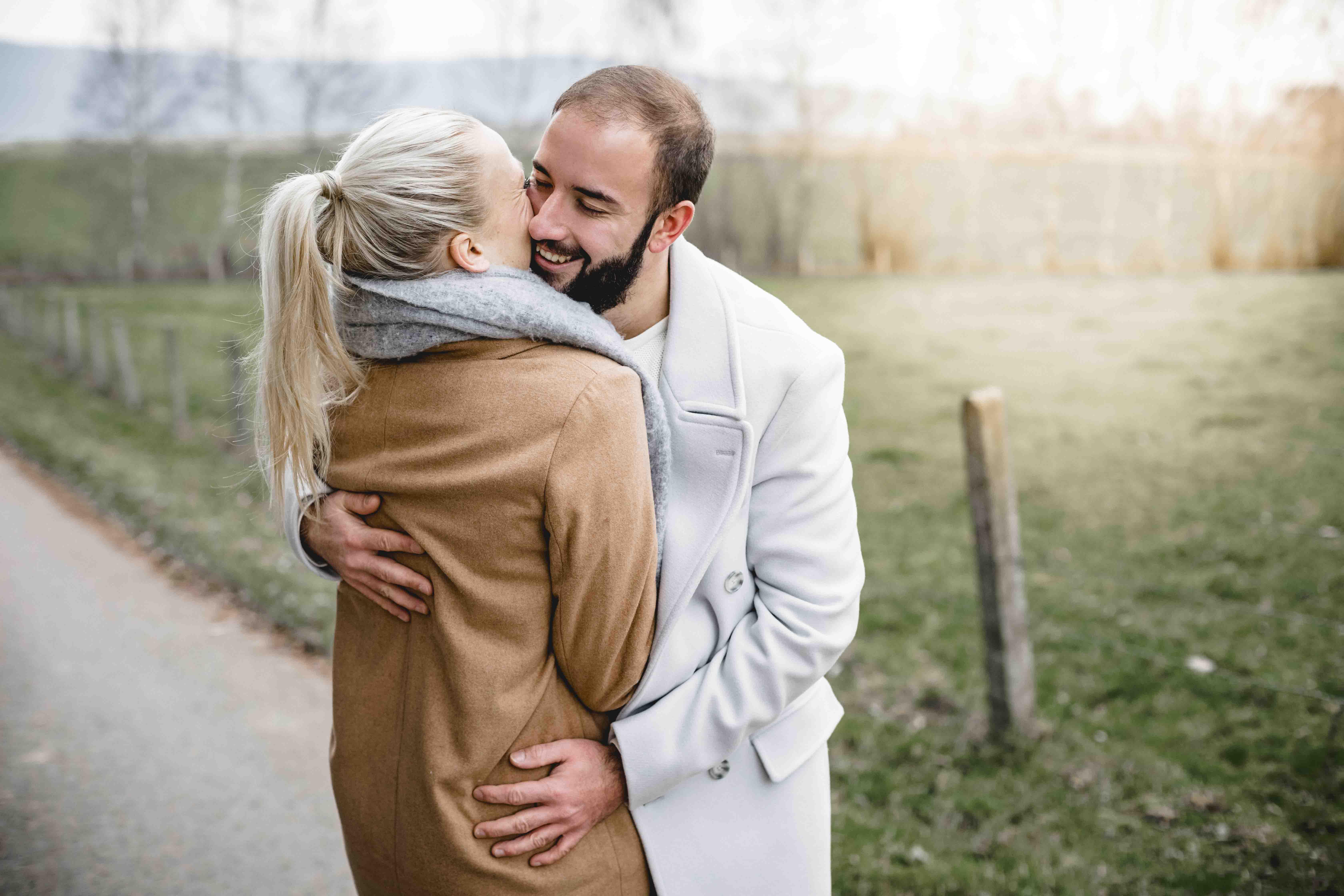 Verlobung Berlin Fotoshooting Dome und Franzi