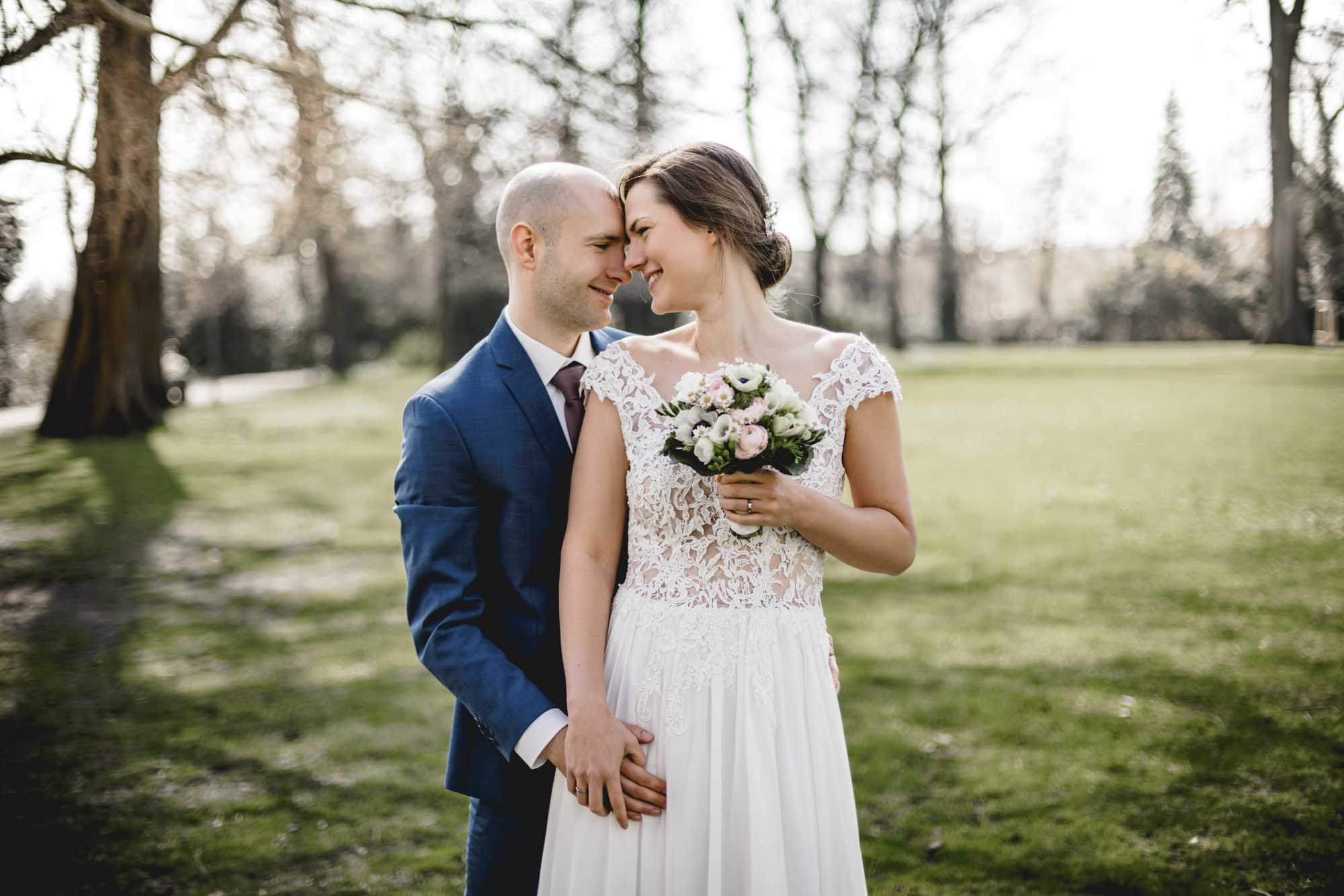 Fotograf Köpenick Hochzeit Schlosspark Christina und Roy