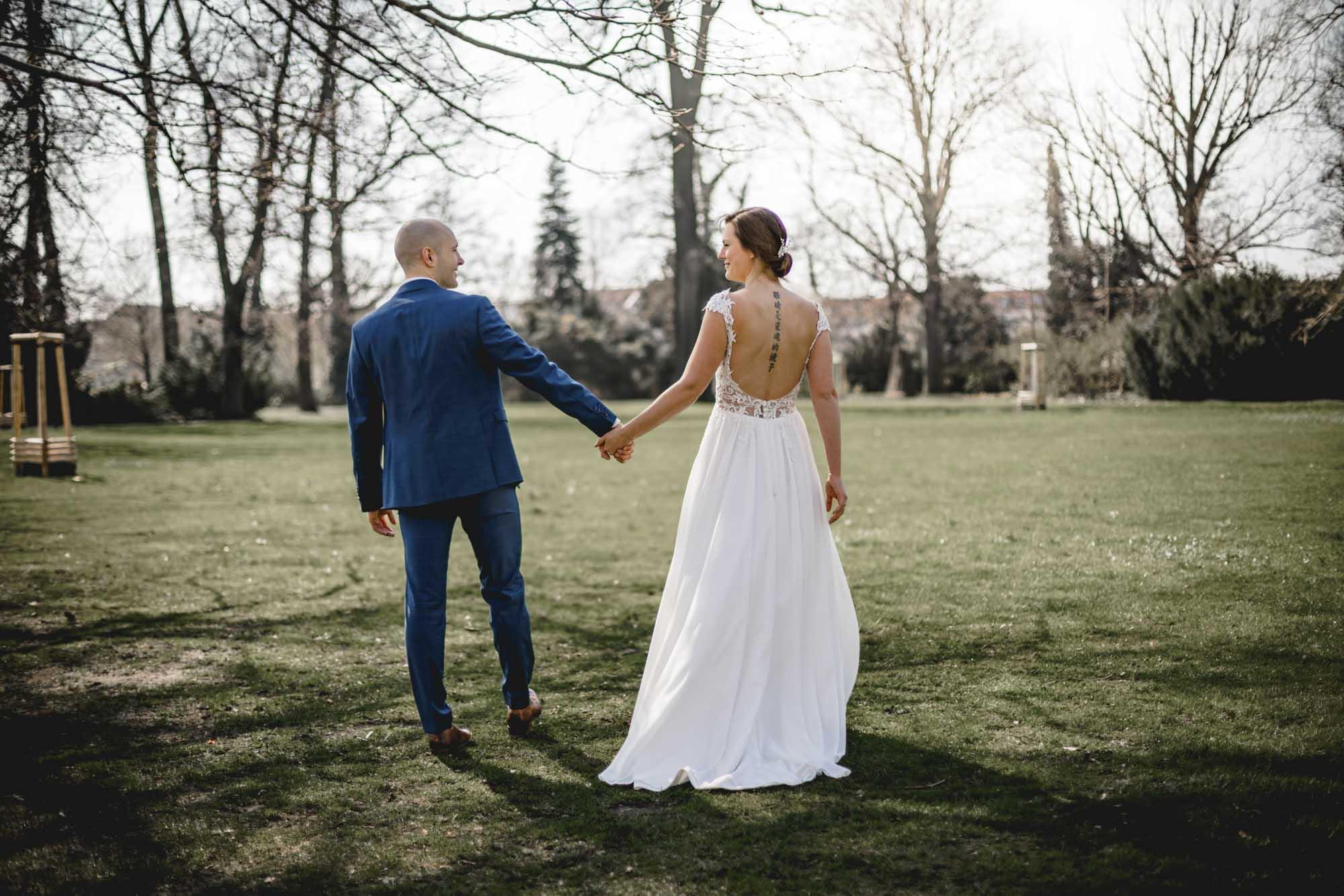 Fotograf Köpenick Christina und Roy Hochzeit auf der Schlossinsel